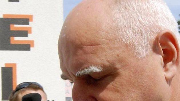 Bývalý předseda ČMFS a současný ředitel 1. FC Brno Pavel Mokrý
