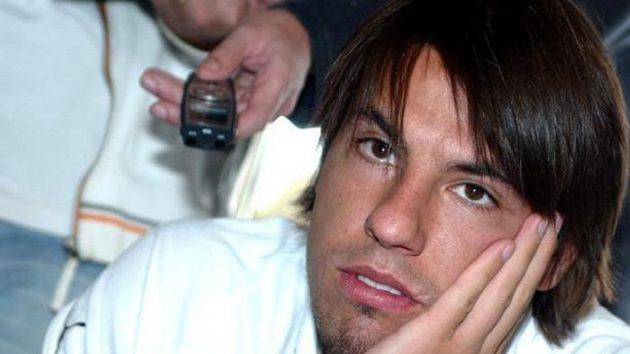 Milan Baroš na srazu fotbalové reprezentace