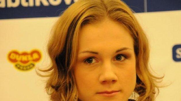 Rychlobruslařka Karolína Erbanová