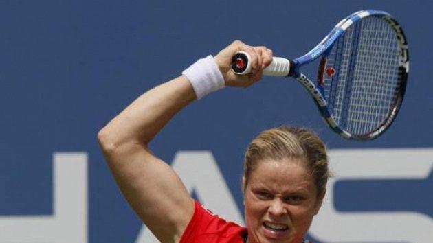 Belgická tenistka Kim Clijstersová na US Open