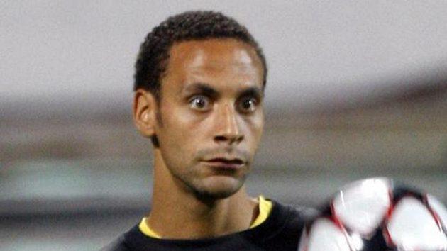 Fotbalista Manchesteru United Rio Ferdinand