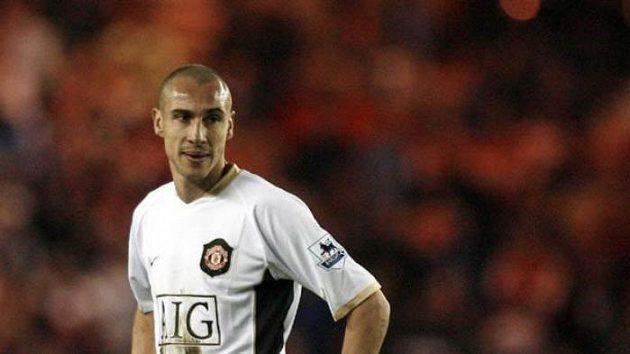 Henrik Larsson ještě v dresu Manchesteru, nyní bude trénovat.