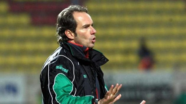 Trenér Karol Marko.