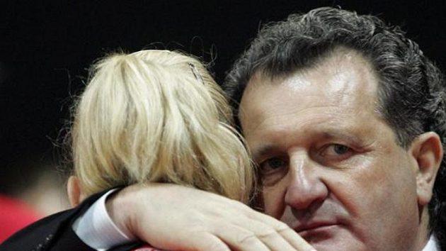 Bývalý trenér basketbalistek Spartaku Moskva Šabtaj Kalmanovič na archivním snímku z listopadu 2006