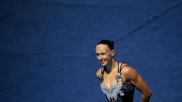 Synchronizovaná plavkyně Natalia Iščenková