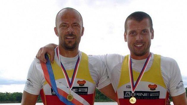 Milan Doleček (vpravo) a Václav Chalupa
