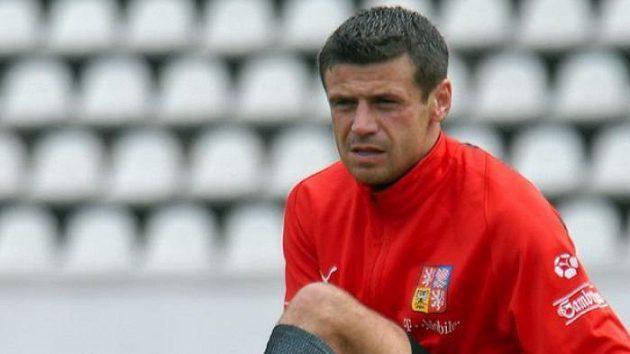 Marek Kulič na tréninku české reprezentace