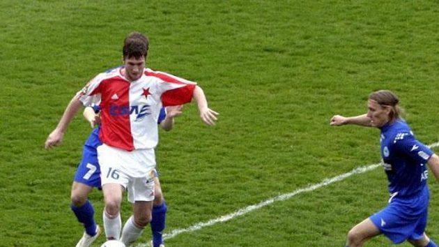 Slavia vutkání sLibercem