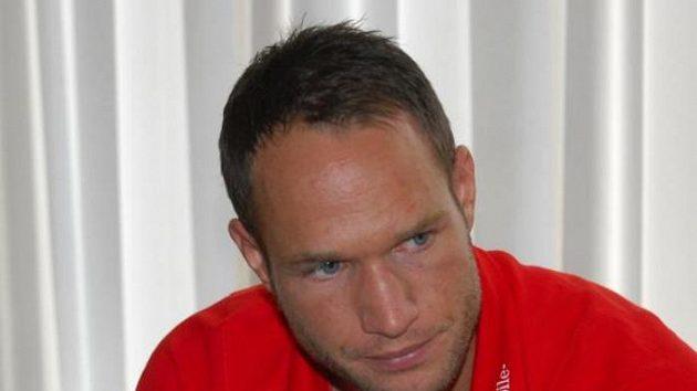 Jan Polák na srazu reprezentace. Archivní foto.