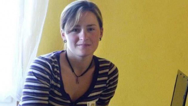 Biatlonistka Veronika Vítková při on-line chatu