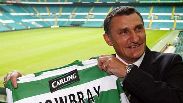 Nový trenér Celticu Glasgow Tony Mowbray