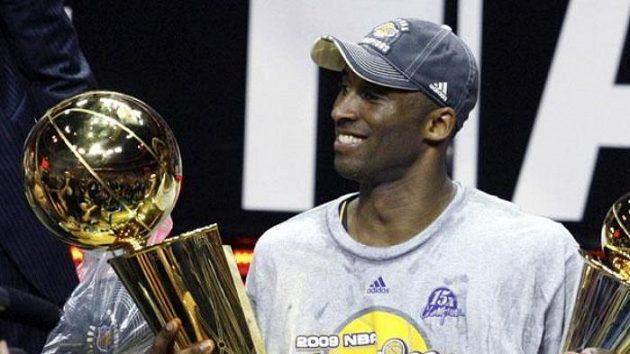 Hvězda Los Angeles Lakers Kobe Bryant