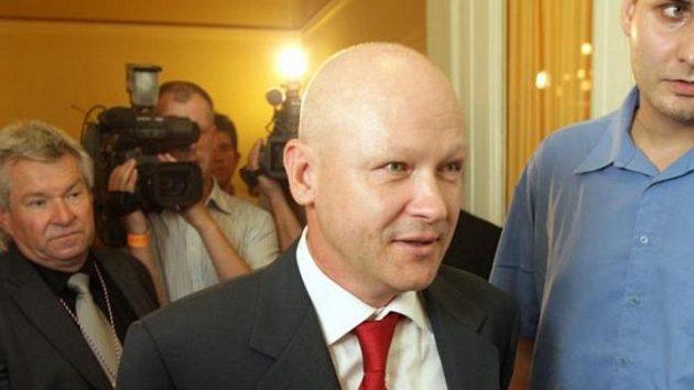 Předseda ČMFS Ivan Hašek