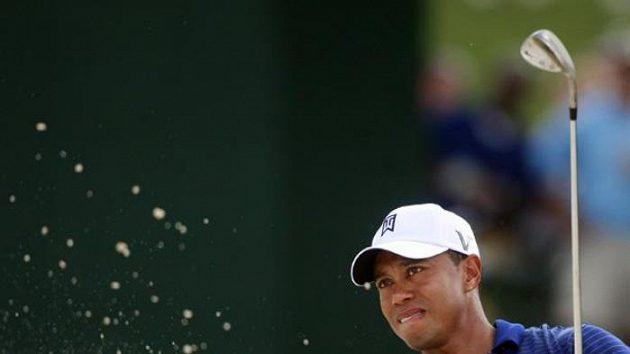Americký golfista Tiger Woods na Tour Championship v Atlantě