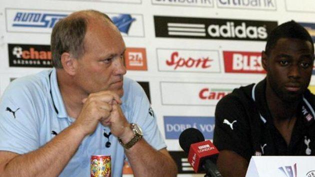 Trenér Martin Jol a Ledley King (vpravo) - ilustrační foto