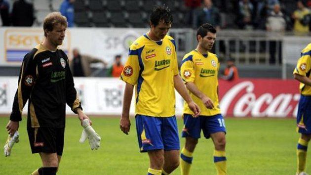Fotbalistům Zlína se vstup do II. ligy nepovedl.