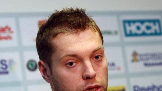 Český hokejista Josef Vašíček