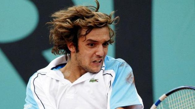 Francouzský tenista Mathieu Montcourt