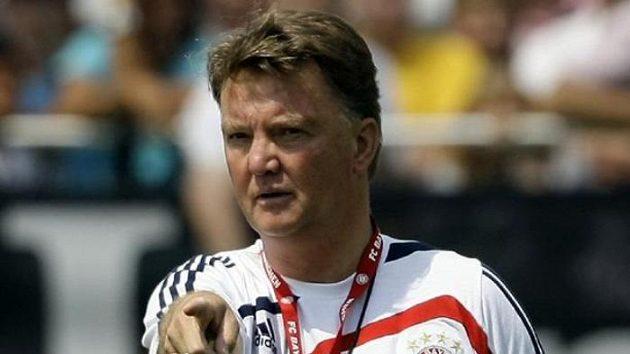 Trenér Luis van Gaal naposledy koučoval Bayern Mnichov.