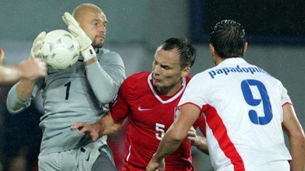 Polští fotbalisté vydřeli výhru nad Lotyšskem