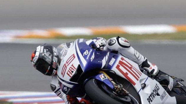 Kvalifikace v Assenu vyhrál Španěl Jorge Lorenzo.