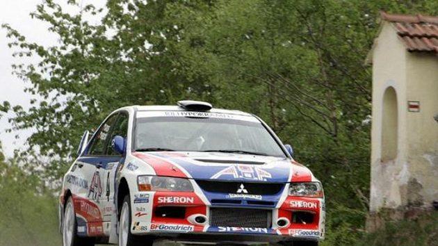 Roman Kresta na trati Rallye Krumlov