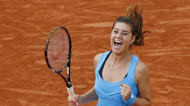 Rumunská tenistka Sorana Cirsteaová