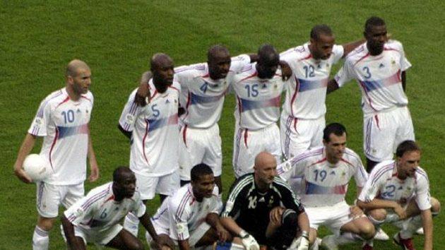 Fotbalisté Francie před finále MS 2006