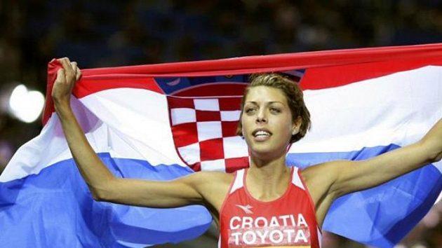 Chorvatská výškařka Blanka Vlašičová