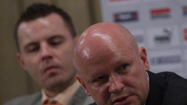 Trenér české fotbalové reprezentace Ivan Hašek