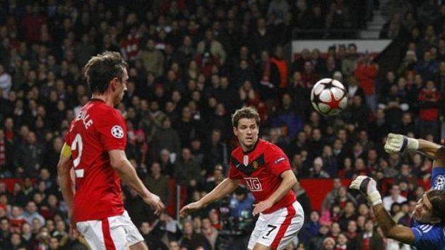 Fotbalisté Manchesteru United ve stíhací jízdě za titulem klopýtli na hřišti Blackburnu - ilustrační foto.