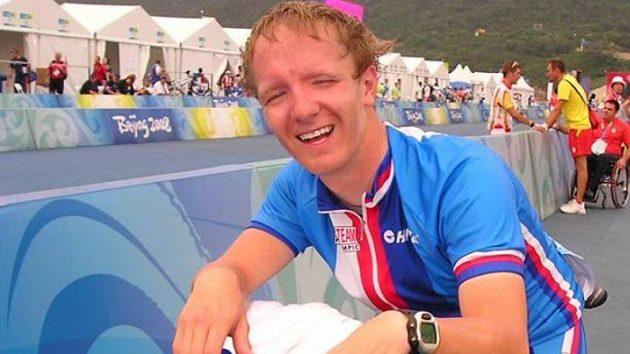 Český cyklista Tomáš Kvasnička