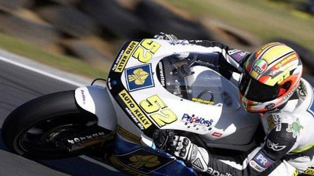 Ve třídě do 250 ccm nebude ani letos chybět vedle Karla Abrahama Lukáš Pešek.