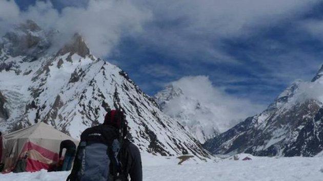 Momentka z cesty do základního tábora pod Gasherbrumy.