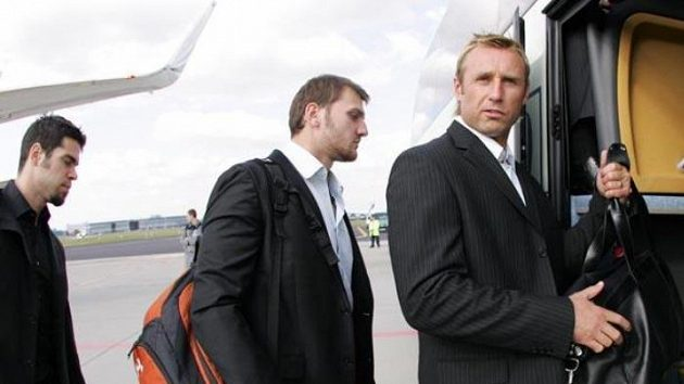 Václav Prospal (vpravo)