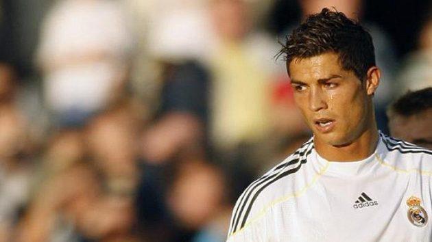 Cristiano Ronaldo v dresu Realu Madrid