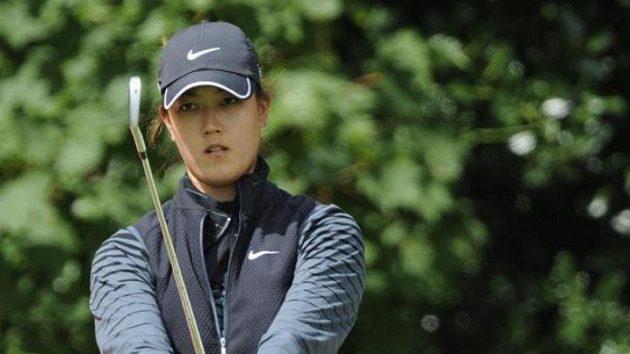 Americká golfistka Michelle Wieová na British Open