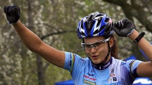 Česká bikerka Tereza Huříková.