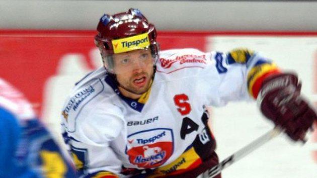 Hokejista Sparty Michal Broš