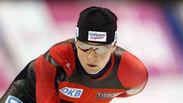 Německá rychlobruslařka Claudia Pechsteinová.