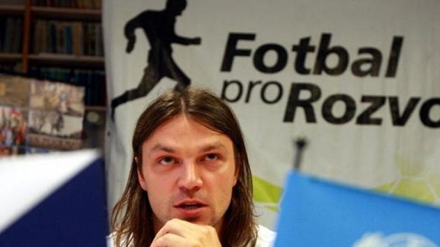Fotbalista Tomáš Ujfaluši jako patron charitativního projektu