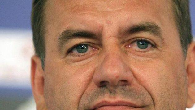 Trenér slovenské fotbalové reprezentace Vladimír Weiss