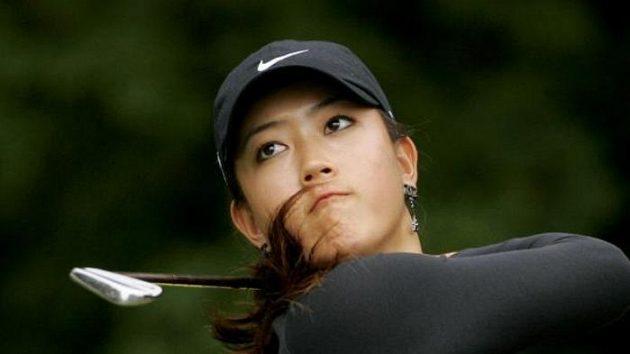 Michelle Wie na British Open.
