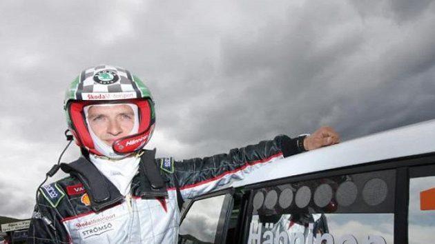 Juho Hänninen s vozem Škoda Fabia S2000