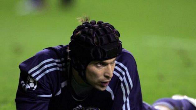 Brankář Chelsea Petr Čech