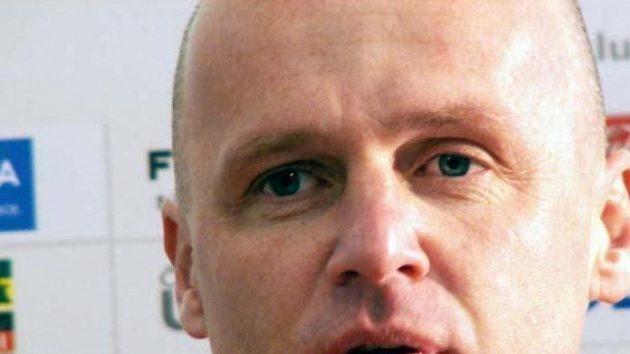 Trenér letenského týmu Michal Bílek.