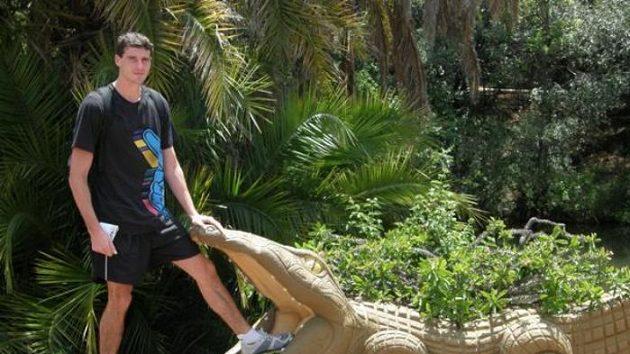 Jaroslav Bába během soustředění navštívil i safari
