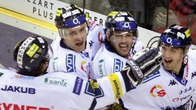V posledních kolech si hokejisté Liberce příliš radosti neužili - ilustrační foto.