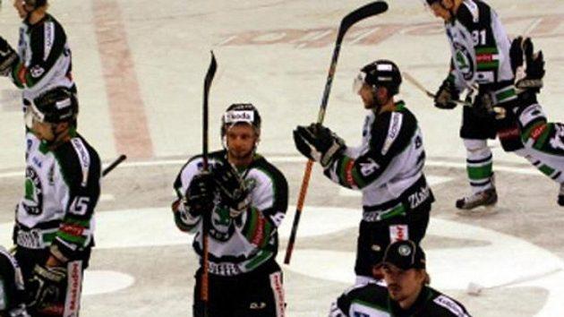 Radost hokejistů Mladé Boleslavi