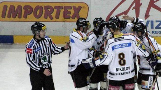 Radost v podání hokejistů Sparty